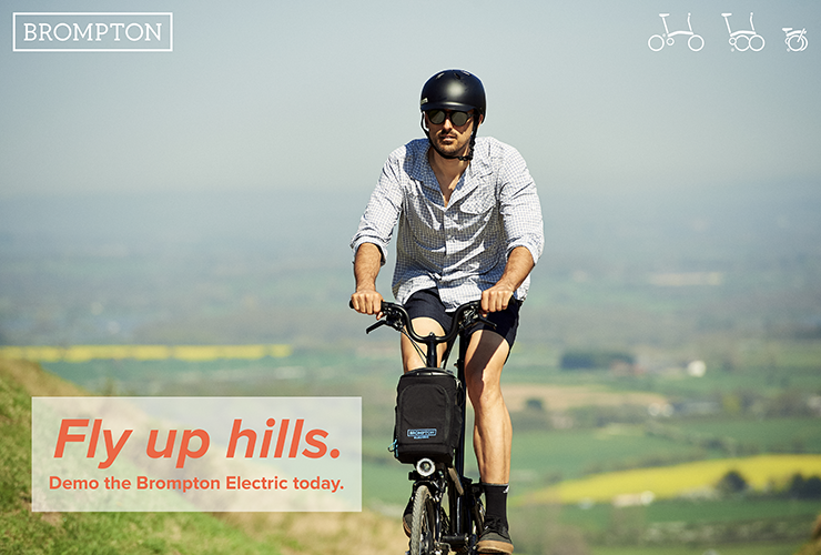 Demo the Electric Brompton!
