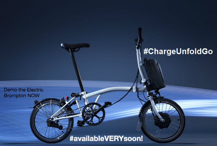 The Electric Brompton is coming!