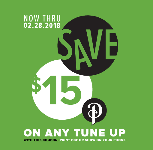 Click for a Tune Up coupon from Perennial Cycle. Expires February, 28, 2018
