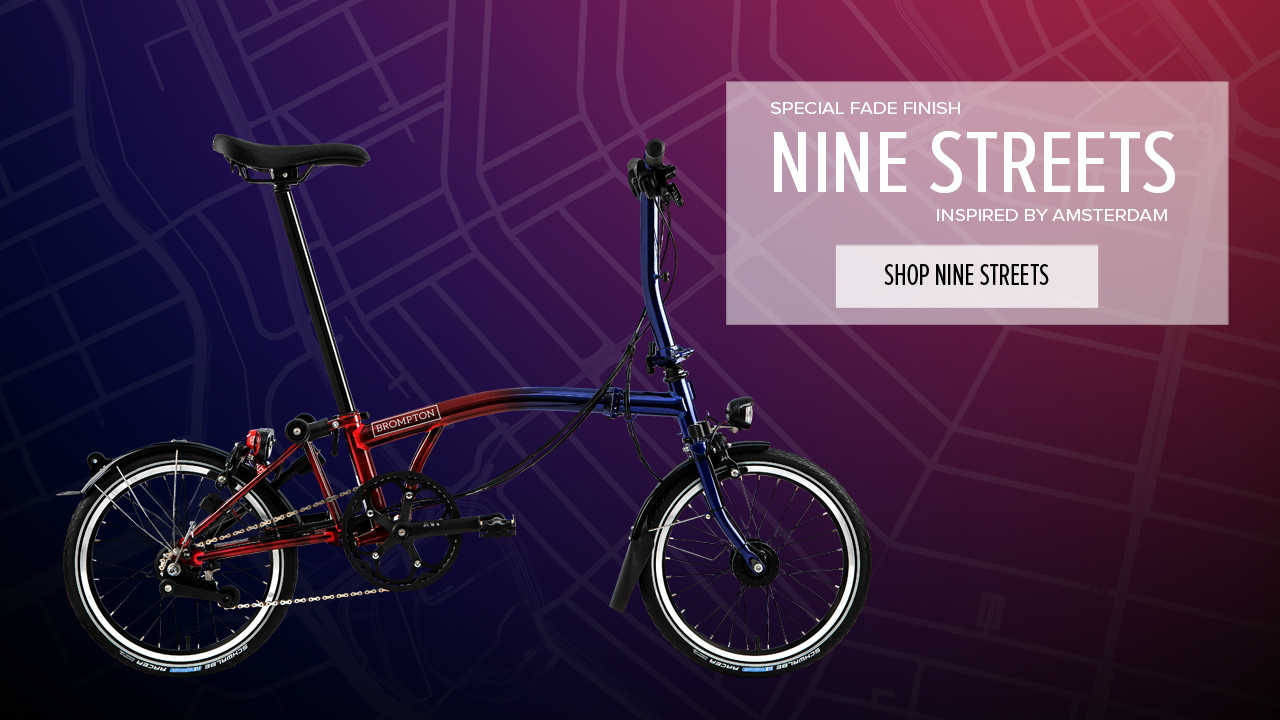Brompton Nine Streets Special Edition