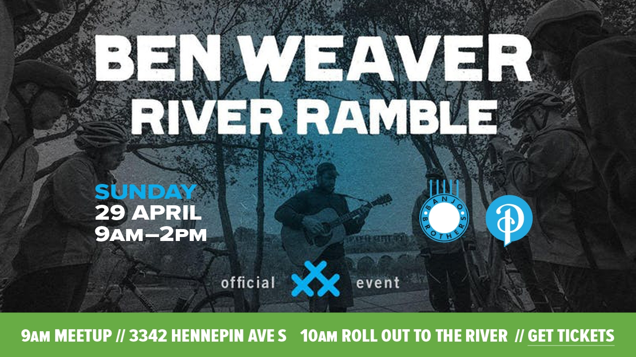 River Ramble with Ben Weaver and 30 Days of Biking