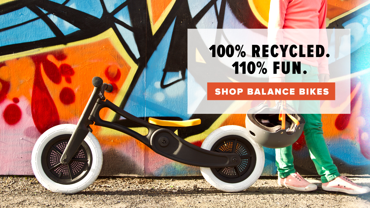 Wishbone Balance Bikes available at Perennial Cycle in Minneapolis