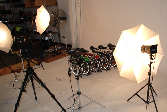 Brompton Bicycle Photo Shoot