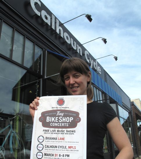 Tiny Bikeshop musician Brianna Lane