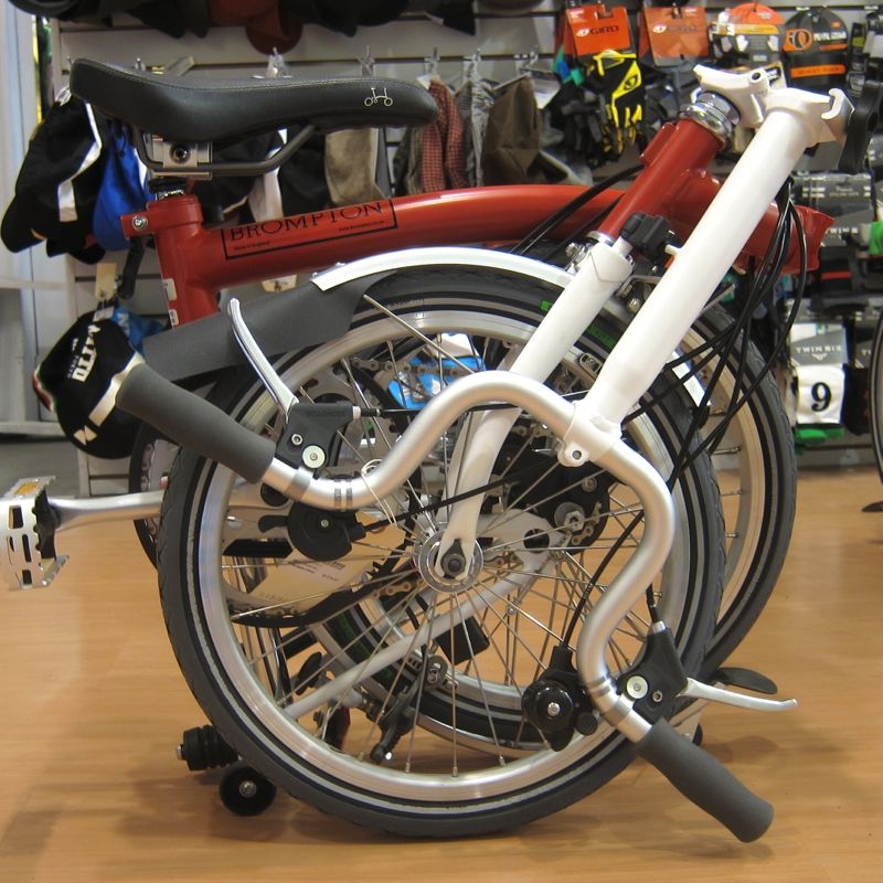 Brompton Folding Bikes @ Calhoun Cycle