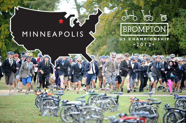 Calhoun Cycle hosts the 2012 Brompton US Championship in Minneapolis