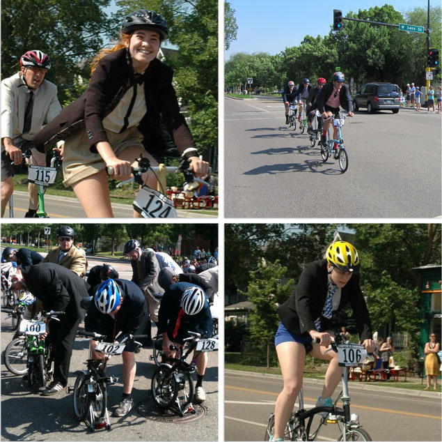 a collage of photos from the Brompton US Championship 2012