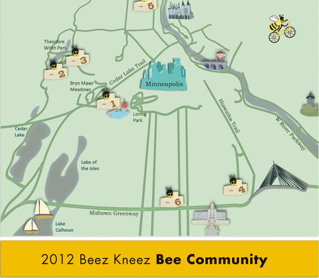2012 Beez Kneez Bee Community