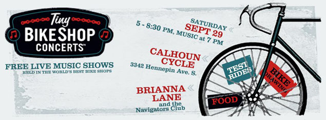 Tiny Bike Shop Concert with Brianna Lane and the Navigators