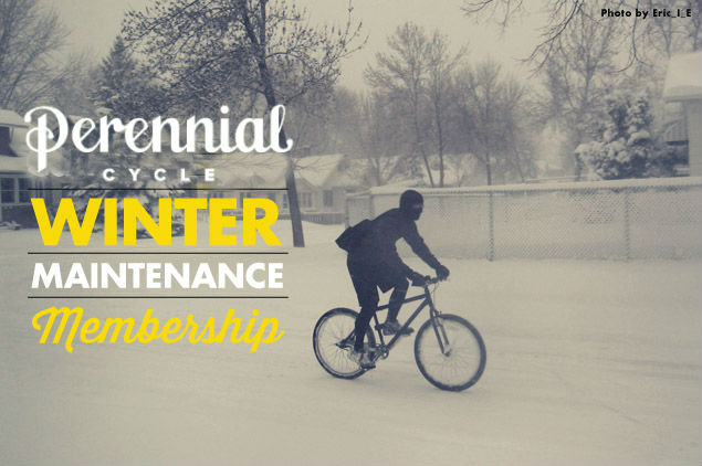 Winter Maintenance Membership from Calhoun Cycle