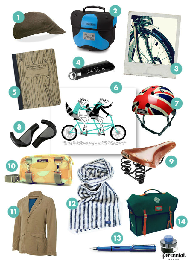 Brompton gift guide from Calhoun Cycle featuring 14 unique gifts for the Brompton owner in your family