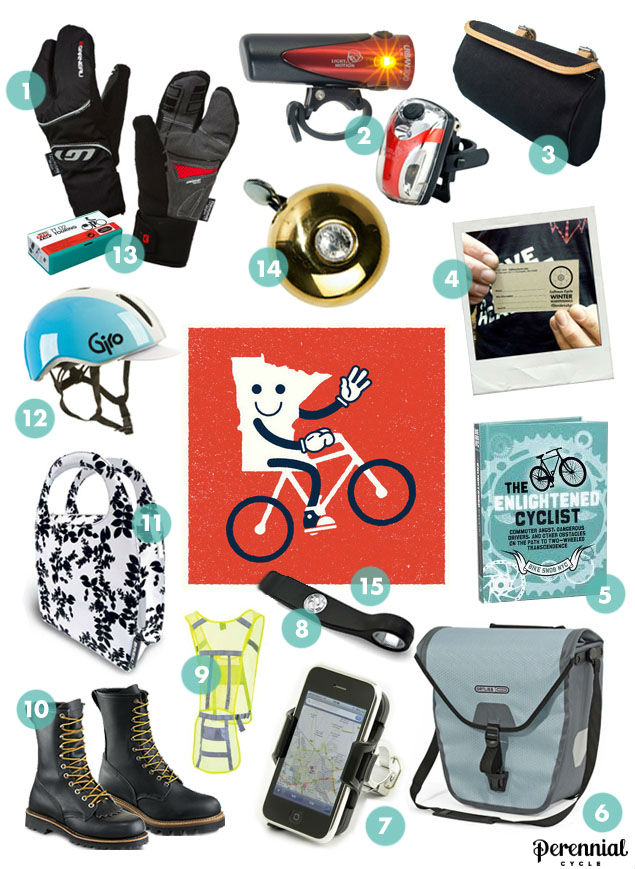 Holiday Gift Guide for the Bike Commuter from Calhoun Cycle in Minneapolis
