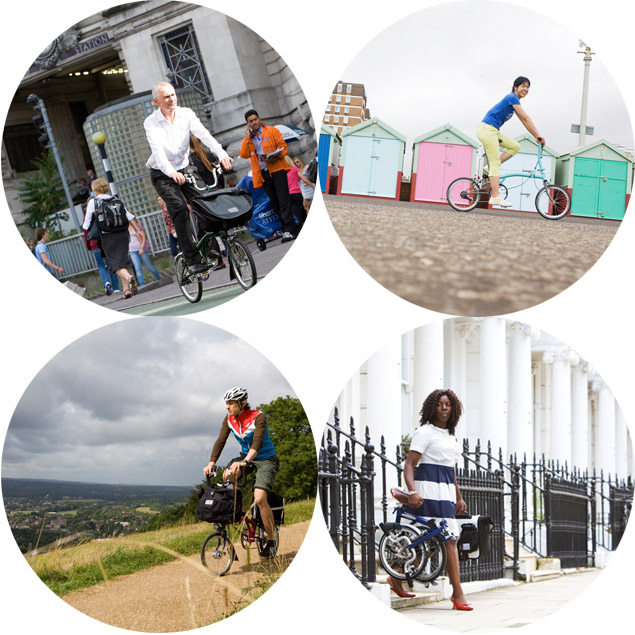 images from the Brompton 2013 Catalog