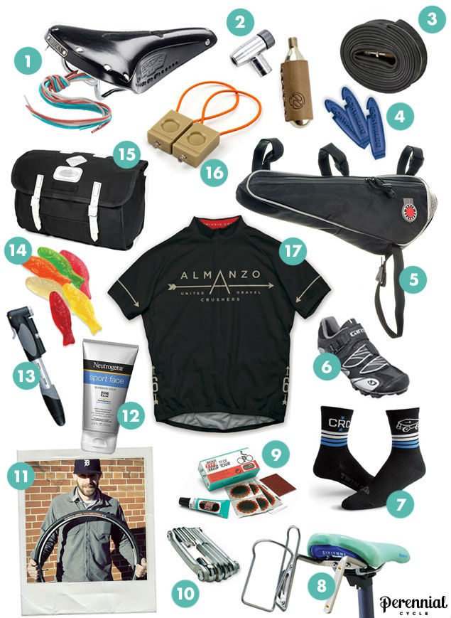 Almanzo 100 Gear Guide from Calhoun Cycle