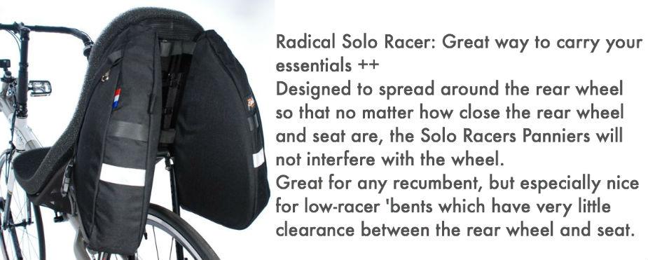 Radical Design Recumbent Bags - Shopcast
