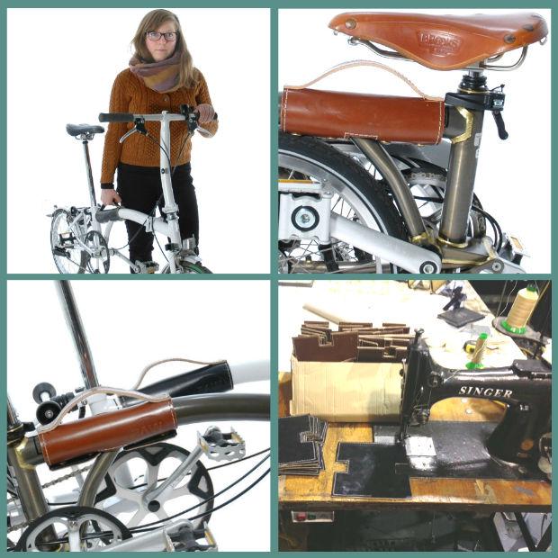 the Original Leather Brompton Handle