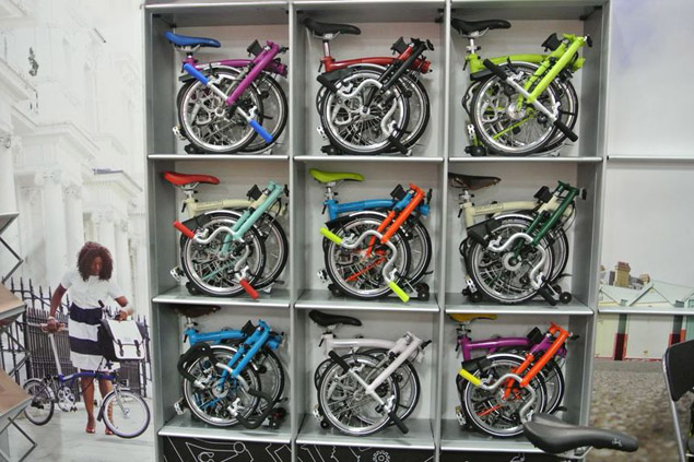New 2015 Brompton colors
