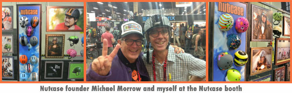 Nutcase Founder Michael Morrow and me (wearing a MetroRide)