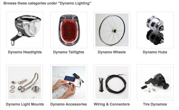 Dynamo Lighting @perennialcycle.com