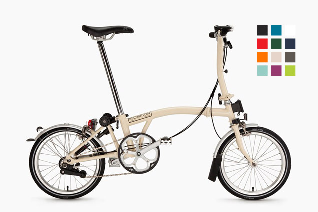Ivory, a new 2015 color from Brompton