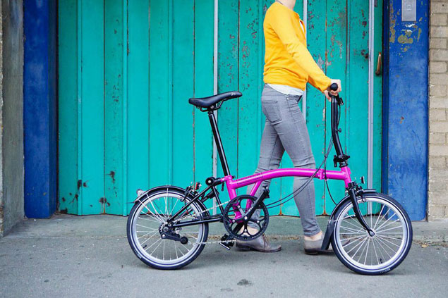 Brompton Black Edition 2015 in Berry Crush