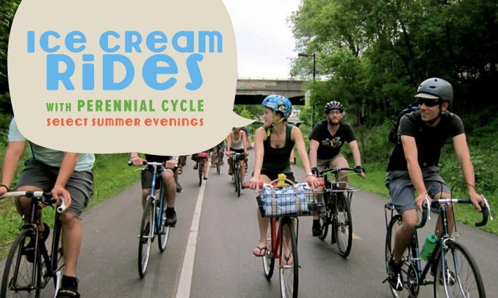 Ice Cream Rides at Perennial Cycle