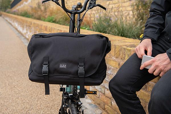 For Brompton Bike Hard Front bag Carrier S Bag Bicycle Carrier Messenger Bag